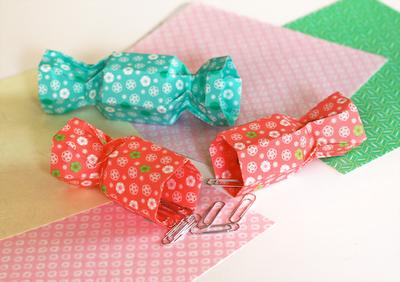 Darbeliai su vaikais: origami saldainių formos dėžutės