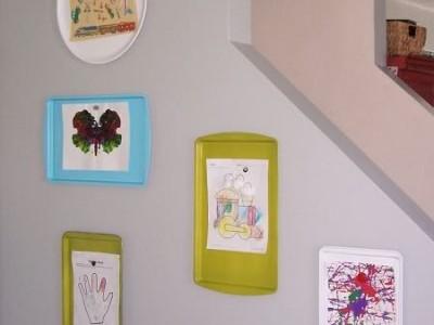 Vaikų piešinių ekspozicija