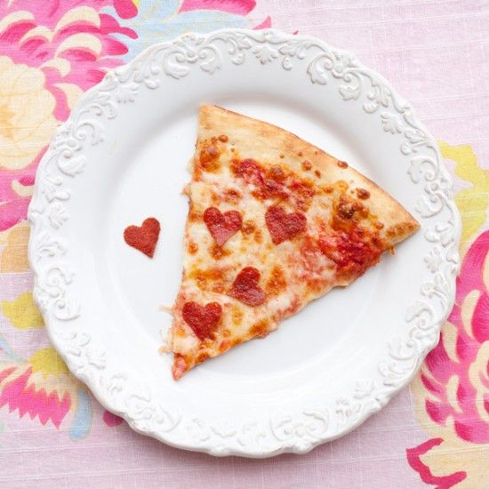 Dovanos idėja: Valentino dienos pica