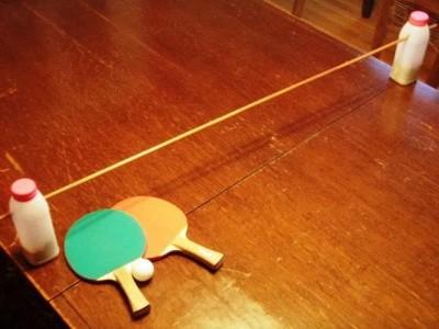 Savaitgalio projektas: ping-pongo stalas iš… nieko!