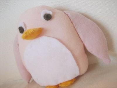 Gaminame žaislus vaikams: pingvinukas