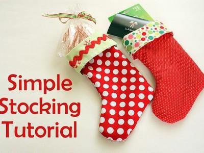 Idėja namams: kalėdinė kojinė