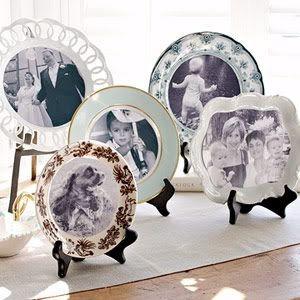 Idėja namams: fotografijos lėkštėse