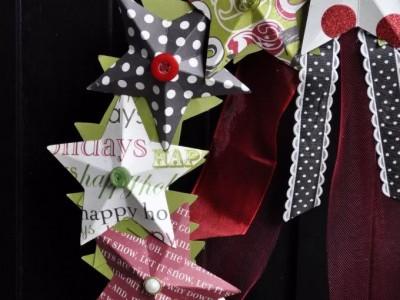 Idėja namams:greita kalėdinės puošmenos idėja