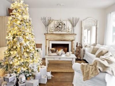 Idėja namams: auksinės Kalėdos