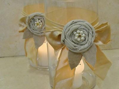 Dovanos idėja: žvakidės per keliolika minučių