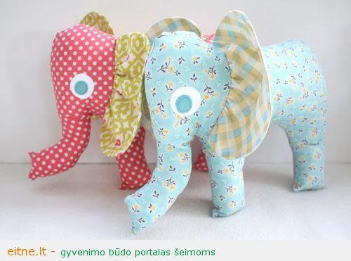 Rankdarbio idėja: dramblys