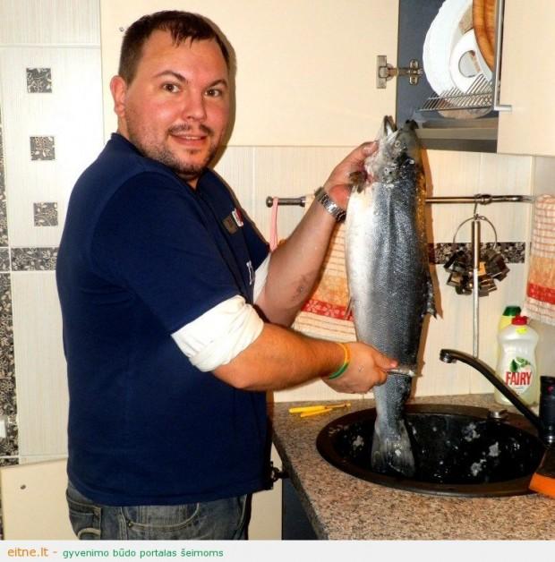 Lašišos akcija – žuvis savaitei