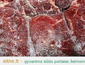 Kaip greičiau ir skaniau paruošti atšaldytą mėsą