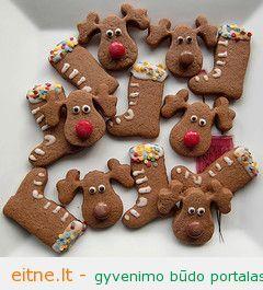 """Kalėdinių sausainių """"3 in 1"""" receptas"""