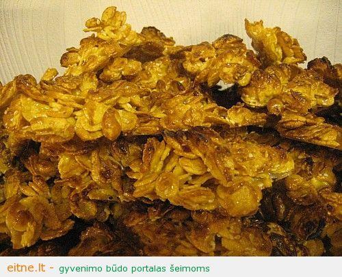 Kukurūziniai sausainiai