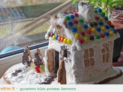 Antras įrašas apie švenčių atsiminimus: meduolinis namelis