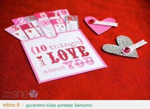Idejos Valentino Dienai