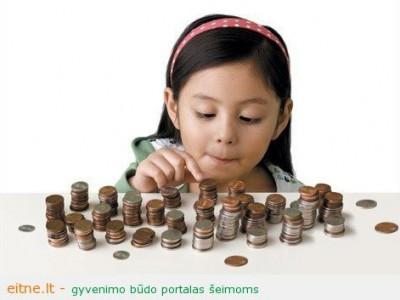 Šeimos kišenės lopymas arba kaip mes mokomės elgtis su pinigais?