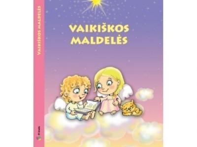 """""""Vaikiškos maldelės"""" – knygelė ne tik mažiesiems"""