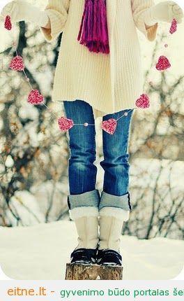 Dekoruojame Valentino dienai