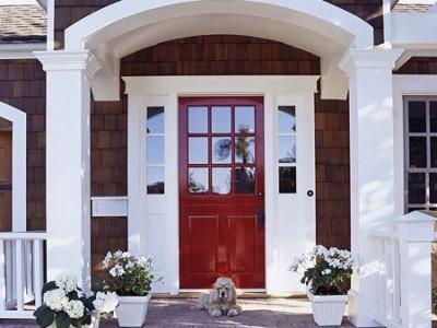 Lauko durys: jų puošyba