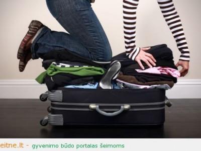 Keliavimas tik su rankiniu bagažu. Ar tai įmanoma?