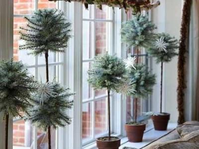 Idėja namams: dekoruoti langai ir palangės
