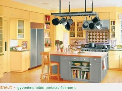 Pavasarinis tvarkymas (IV dalis). Virtuvė