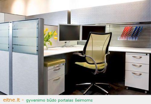 Biuro baldai: į ką reiktų atkreipti dėmesį juos renkantis