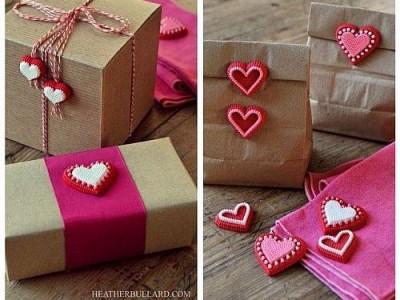 Idėja Valentino dienai – stilingos dovanų pakuotės