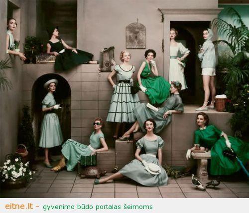 Žalia. Drabužiuose ir namuose