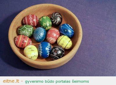 Šv.Velykos: kiaušinių marginimo būdai ir ornamentai
