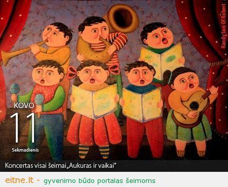 Klaipėdos koncertų salė | Kovo 11 d. koncertas visai šeimai