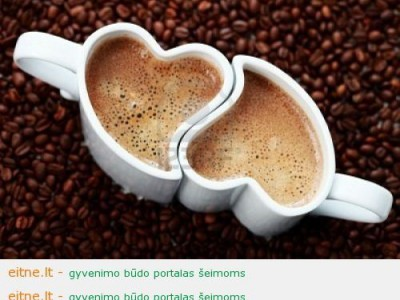 Dviejų kavos puodelių filosofija