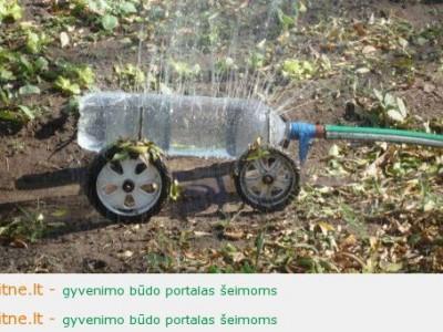 Ekologija namie, arba kur panaudoti plastikinius butelius