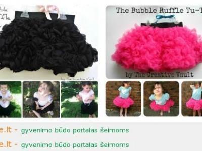 Rankdarbio idėja: kitoks TU-TU sijonas