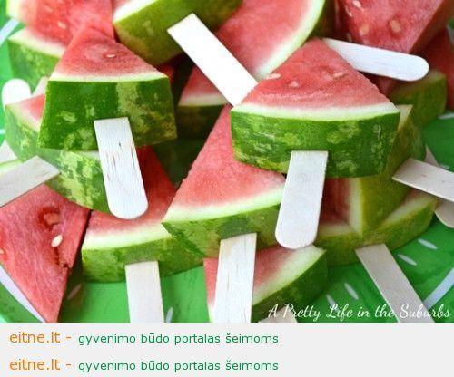 10 idėjų vasaros vaišėms