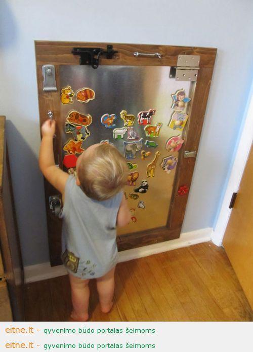 Gaminame žaislus: magnetinė lenta
