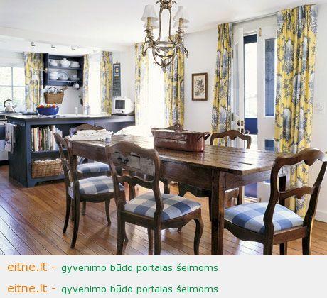Populiarus sprendimas – virtuvė su svetaine