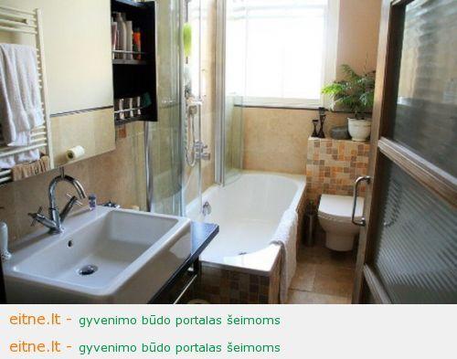 Įsirenginėjam mažą vonią – vonios idėjos ir baldai