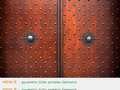 Ar šarvuotos durys garantuoja namų saugumą?
