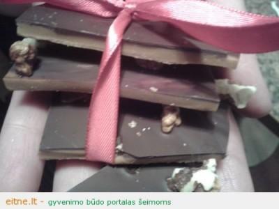 Saldžios dovanos: rankų darbo saldainiai