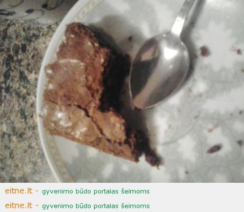 Šokoladinis Marie pyragas