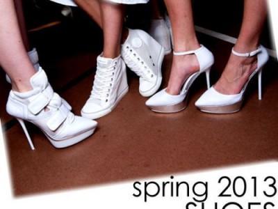 Batų mados, 2013 metų pavasaris-vasara