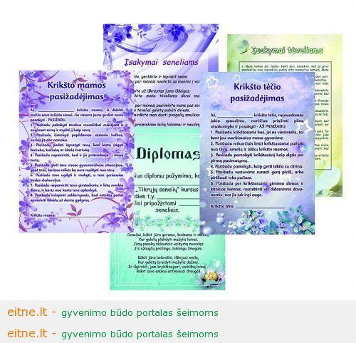 pasizadėjimai ir diplomai