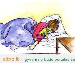 Miegas. Ką daryti ir ko ne prieš pat miegą