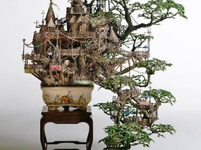 Bonsai – miniatiūrinė medžio kopija
