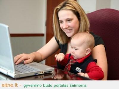Kodėl kiekviena mama turi mokėti sukurti interneto svetainę