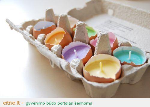 Kur panaudoti kiaušinių lukštus
