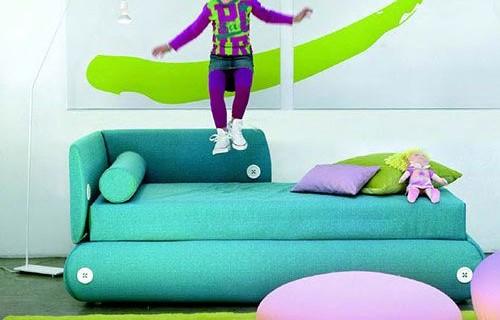 Spalvingos vaikų kambario idėjos