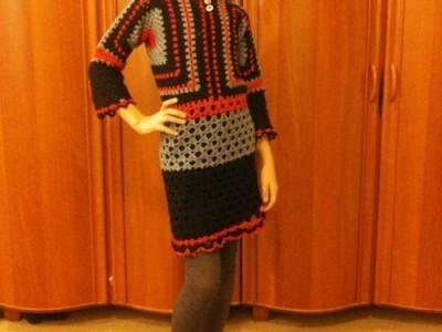 Kašmyrinė suknelė