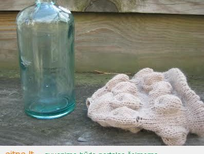 Dekoratyvinis butelis