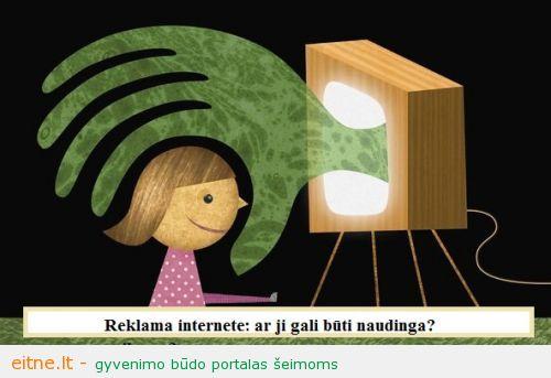 Reklama internete: ar ji gali būti naudinga vaikams?